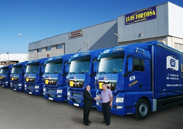 Acquisition of ten new large volume vehicles