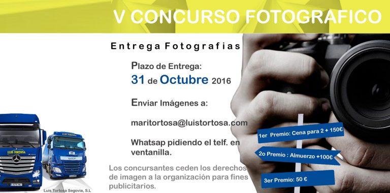 Lee más sobre el artículo V Concurso fotográfico – Luis Tortosa