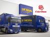 Transportes Luis Tortosa dona carne y pañales a Cáritas de Ibi